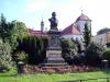 Socha J. E. Purkyně v Libochovicích