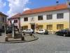 Říhovo náměstí v Budyni nad Ohří