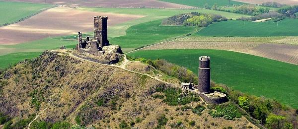 hrad hazmburk v ceskem stredohori